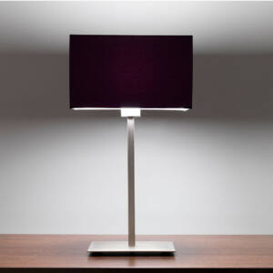 Astro 1080016 Éjjeli asztali lámpa Park Lane matt nikkel fém