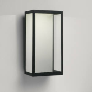 Astro Puzzle 1199001 Kültéri fali LED lámpa fekete átlátszó fém