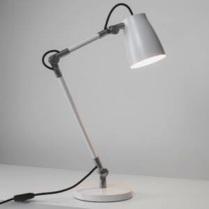 Astro 1224002 Csiptetős asztali lámpa Atelier fehér fehér fém
