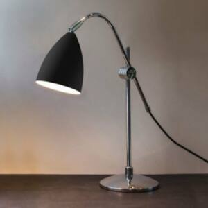 Astro Joel 1223011 Éjjeli asztali lámpa króm fekete 1 x 42W Max E27/ES 72 x 18 x 50 cm