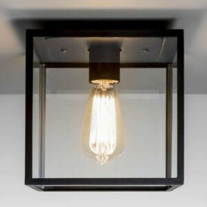 Astro Box 1354001 Fürdőszoba mennyezeti lámpa fekete átlátszó 1 x 60W Max E27/ES 22,3 x 20 x 20 cm