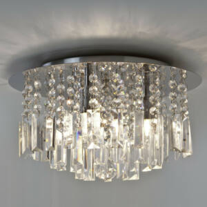 Astro Evros 1329001 Fürdőszoba mennyezeti lámpa króm 3 x 33W Max   G9 19,5 x 35 x 35 cm