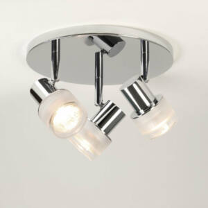 Astro Tokai 1285002 Fürdőszoba mennyezeti lámpa króm 3 x 35W Max GU10 14,6 x 22 x 22 cm