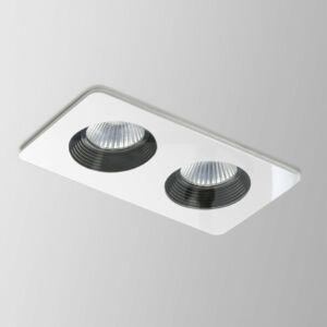Astro Vetro 1254003 Álmennyezetbe építhető lámpa fehér LED - 2 x 10W 7,5 x 17,5 x 9 cm
