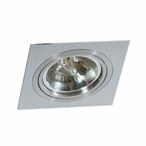 Azzardo Siro AZ-0767 Álmennyezetbe építhető lámpa alumínium 1 x G53 max. 50W 2,5 x 17 x 17 cm