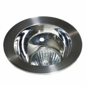Azzardo Remo AZ-GM2118R-ALU-CH Álmennyezetbe építhető lámpa alumínium 1 x GU10 max. 50W 4,2 x 11,5 x 11,5 cm