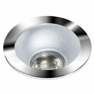 Azzardo Remo AZ-GM2118R-CH-ALU Álmennyezetbe építhető lámpa alumínium 1 x GU10 max. 50W 4,2 x 11,5 x 11,5 cm