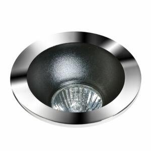 Azzardo Remo AZ-GM2118R-CH-BK Álmennyezetbe építhető lámpa fekete 1 x GU10 max. 50W 4,2 x 11,5 x 11,5 cm