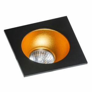 Azzardo Hugo AZ-GM2118S-BK-GO Álmennyezetbe építhető lámpa arany 1 x GU10 max. 50W 4,2 x 11,5 x 11,5 cm