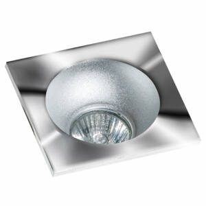 Azzardo Hugo AZ-GM2118S-CH-ALU Álmennyezetbe építhető lámpa króm 1 x GU10 max. 50W 4,2 x 11,5 x 11,5 cm