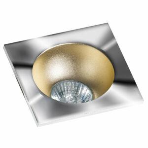 Azzardo Hugo AZ-GM2118S-CH-CHA Álmennyezetbe építhető lámpa arany 1 x GU10 max. 50W 4,2 x 11,5 x 11,5 cm