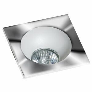 Azzardo Hugo AZ-GM2118S-CH-WH Álmennyezetbe építhető lámpa króm 1 x GU10 max. 50W 4,2 x 11,5 x 11,5 cm