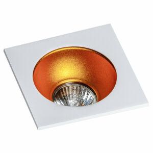 Azzardo Hugo AZ-GM2118S-WH-GO Álmennyezetbe építhető lámpa arany 1 x GU10 max. 50W 4,2 x 11,5 x 11,5 cm