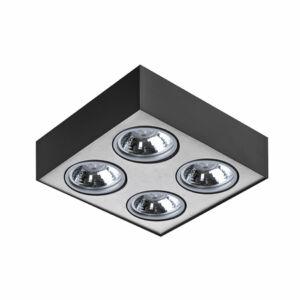 Azzardo Paulo AZ-1264 Mennyezeti spot lámpa fekete 4 x G53 max. 50W 13 x 31,3 x 31,3 cm