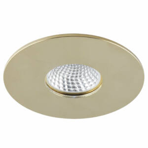 Azzardo Cleto AZ-1621 Álmennyezetbe építhető lámpa arany 1 x GU10 max. 50W 2,2 x 9,8 x 9,8 cm