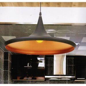Azzardo Chink AZ-1407 Modern függeszték fekete fekete 1 x E27 max. 60W 120 x 36 x 36 cm