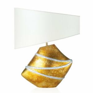 Envy 4717 Asztali lámpa LACE króm kerámia