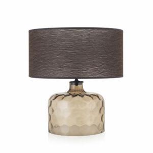 Envy GARON 4927 Asztali lámpa topáz barna 1xE27 max. 60W 35x35x38cm