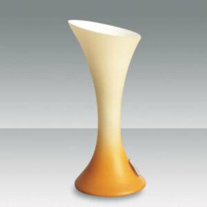 Fabas Luce NIKITA 2586-30-170 Érintőkapcsolós asztali lámpa narancs 1 x max 40 G9 W 25x11 cm