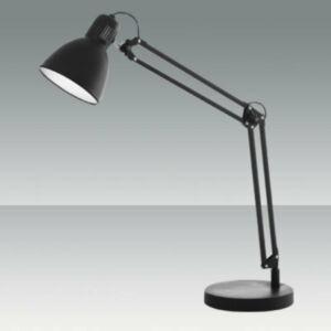 Fabas Luce LISETTA 3015-30-101 Íróasztal lámpa fekete 1 x max 40 E27 W 80x90 cm