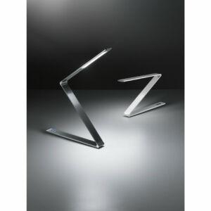 Fabas Luce Fitz 3264-30-212 Érintőkapcsolós asztali lámpa alumínium 12W LED H:Max 875W:Max 1200mm.