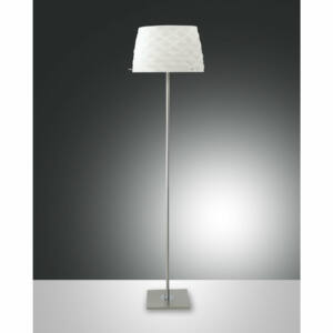 Fabas Luce SOFT 3322-10-178 Állólámpa szatinált nikkel fehér 3xE27 max. 40W Ø42x166cm
