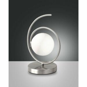 Fabas Luce ENSEMBLE 3350-30-178 Ledes asztali lámpa szatinált nikkel LED 5W Ø13x25cm