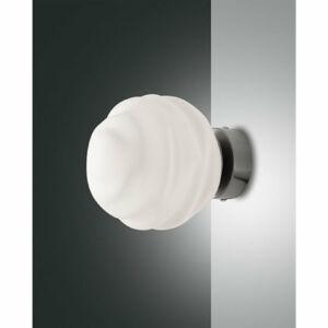 Fabas Luce AVA 3290-21-178 Fali lámpa fehér 1xE14 40W Ø14x18cm