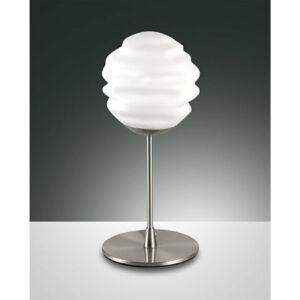 Fabas Luce AVA 3290-30-178 Asztali lámpa fehér 1xE14 40W Ø15x31cm
