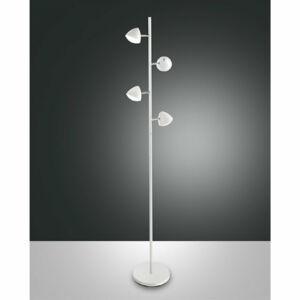 Fabas Luce BIKE 3297-10-102 Állólámpa fehér LED 32W 165xØ25cm
