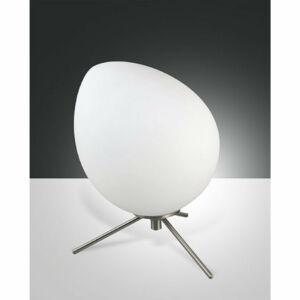 Fabas Luce EVO 3248-30-178 Ledes asztali lámpa szatinált nikkel LED 6W 25x23cm