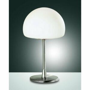 Fabas Luce GAIA 2561-30-178 Asztali lámpa nikkel 1 x max 40 G9 W 26x15 cm