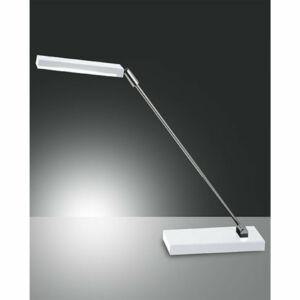 Fabas Luce NIKI 3148-30-102 Ledes asztali lámpa fehér LED max. 6W 17x54 max.