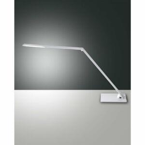 Fabas Luce WASP 3265-30-212 Ledes asztali lámpa szálcsiszolt alumínium LED 10W 22x14x max. 106cm