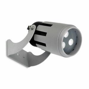 Leds-C4 POWELL 05-9856-34-CM Kültéri LED reflektor szürke 9xLED 19,5W Ø12x16,4xmax26cm