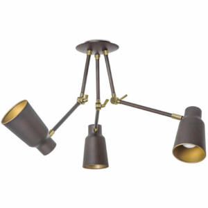 Leds-C4 FUNK 20-4755-CI-23 Többágú függeszték arany acél