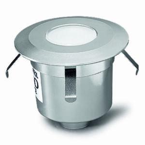 Leds-C4 GEA 55-9769-54-T2 Talajba süllyeszthető lámpa alumínium 12xLED 1W Ø6x6cm