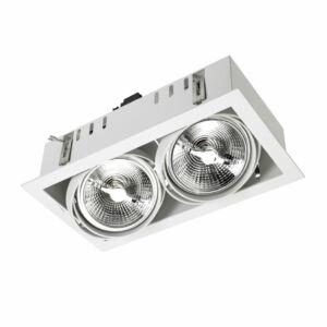 Leds-C4 MULTIDIR DM-0062-14-00 Beépíthető lámpa fehér alumínium