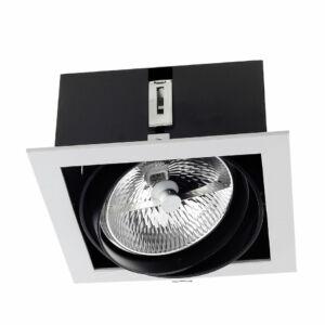 Leds-C4 MULTIDIR DM-1155-N3-00 Álmennyezetbe építhető lámpa szürke alumínium
