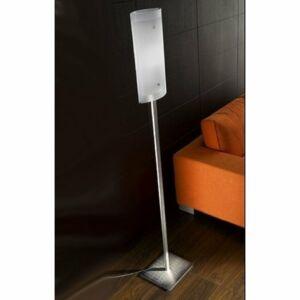 LineaLight MILLE 1008 Állólámpa szatinált nikkel 1xE27 max. 205 W 183x23x9 cm