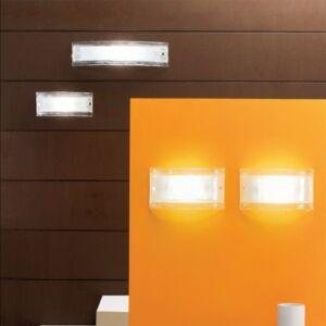 LineaLight AMBRA/CRISTALLO 4503 Fali lámpa kristály fém