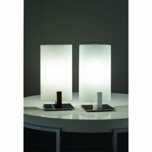 LineaLight WOOD 90192 Asztali lámpa fehér 1xE14 max. 42 W 15x12x28cm