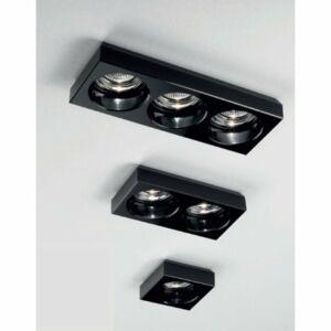 LineaLight INCASSO 6370 Beépíthető lámpa fekete üveg