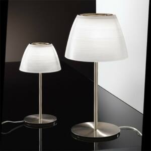 LineaLight CUPOLÉ 6385 Asztali lámpa fehér 1xG9 max. 40 W Ø20x12x37cm