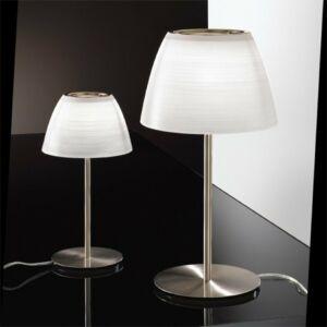 LineaLight 6385 Asztali lámpa CUPOLÉ fehér fém
