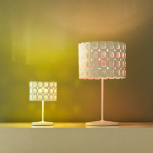 LineaLight GISÉLE 6822 Asztali lámpa fehér 1xG9 max. 9 W Ø18x12x28cm