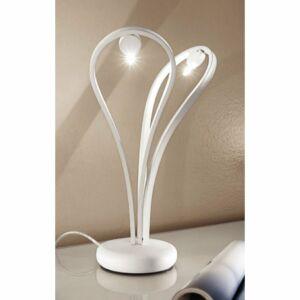LineaLight 7033 Asztali lámpa MEDUSA fehér fém