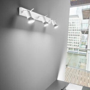 LineaLight SPOTTY 7347 Mennyezeti spot lámpa szürke 3xGU10 max. 40W 45x10x5 cm