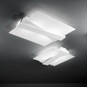 LineaLight ZIG ZAG 7290 Mennyezeti lámpa fehér fém