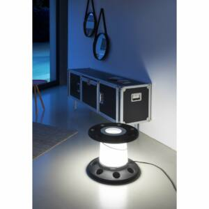 LineaLight REELY IN 7672 Asztali lámpa antracit műanyag